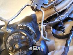 #10 English Post WWII MK-4 / PZA Oxygen Mask Pilot Flight Helmet With Googles