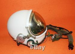 100% Flight Helmet High Altitude Astronaut Space Pilots Pressured Size 0# XXXL