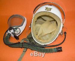 100% Flight Helmet Naval Aviator Pilot Helmet Tk-1 Oxygen Mask Moom