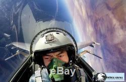 100% Orig Russia Heavy Fighter Su-35 Pilots Flight Helmet ZSH-7APN, Oxygen Mask