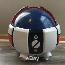11 Robotech Macross Pilot Flight Helmet Valkyrie VF-1 Rick Hunter