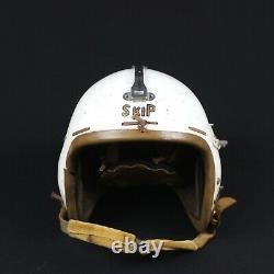 1957 Us Air Force Usaf P-4a P4a Flight Flying Helmet Pilot Named Jet Fighter