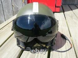 1970's United Kingdom Mk. IIIC Pilot's Dual Visor Flight Helmet