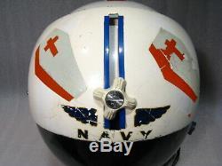 60's GENTEX BPH-2 US NAVY PILOT (PATROL TYPE) FLIGHT HELMET