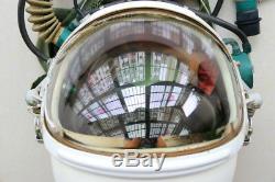 Air Force Aviator Astronaut Outer Space Pilot Flight Helmet, Black Sun-visor