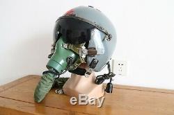 Air Force Aviator MIG Fighter Pilot Low-altitude Flight Helmet, Open Type Helmet