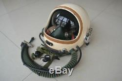 Air Force Aviator MiG Fighter Pilot Aviation Flight Helmet, Anti Gravity Suit