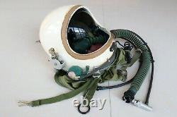 Air Force Fighter Pilot Aviator Flight Helmet Balck Sunvisor