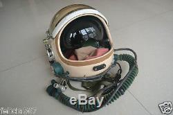 Air Force Fighter Pilot Aviator Space Helmet, Original Authentic Flight Helmet