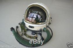 Air Force Fighter Pilot Flight Helmet, Oxygen Mask, Aviator Anti G Flight Suit