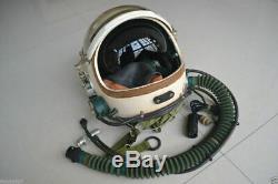 Air Force High Altitude Fighter Pilot Flight Helmet, Sunvisor, Anit Grivty Suit