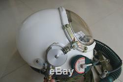 Air Force High Altitude Fighter Pilot Flight Helmet, drop-down mask