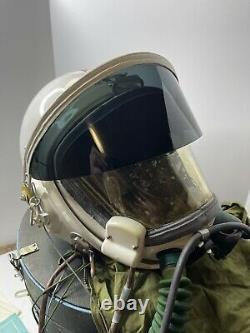 Air Force High Altitude MiG-21 Fighter Pilot Flight Helmet with Case & Paperwork