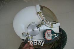 Air Force High Altitude MiG-23 Fighter Pilot Flight Protection Helmet, Suit
