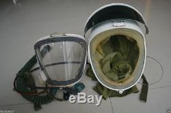 Air Force High Altitude MiGs Jets Fighter Pilot Flight Helmet, Pressure Suit