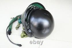 Air Force MiG-21 Fighter Pilot Flight Helmet Pull down black sunvisor