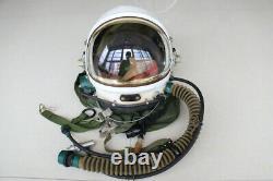 Air Force MiG-23 Fighter Pilot Aviation Flight Helmet ++ Anti G Fly Uniform