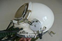 Air Force MiG Fighter Aviator Pilot Flight Helmet, High Altitude Sealed Helmet
