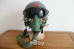 Air Force MiG Fighter Pilot Aviator Helmet, Militaria Aviation Flight Helmet