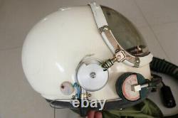 Air Force MiG Fighter Pilot Flight Helmet + Flying Suit