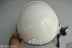 Air Force Mig Fighter Pilot Flight Suit Aviator Flying Helmet, Black Sunvisor