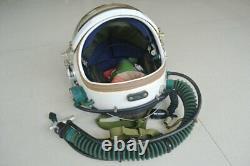 Air force fighter pilot flight helmet + flying suit