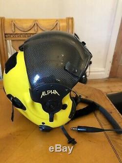 Alpha Eagle Pilot Helmet Helicopter Medium size Flight gear