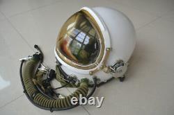Astronaut Cosmonaut Spaceman Pilot Flight Helmet // Only // Yellow Sun-visor //