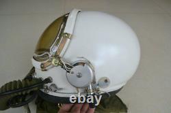 Astronaut Cosmonaut Spaceman Pilot Flight Helmet Rare Yellow Sun-visor //