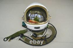 Astronaut cosmonaut spaceman pilot flight helmet // rare yellow sun-visor //