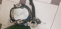 Authentic Russian Pilot Flight Helmet ZSH-5A + Oxygen Mask KM-34