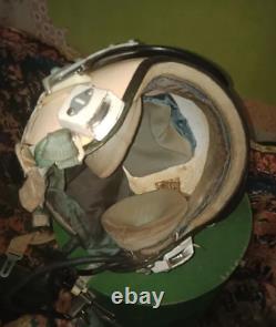 Aviation protective flight helmet of the USSR hermetic helmet (ZSh-5) for pilots