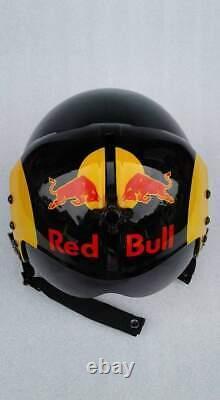 Bull Total Flight Helmet Prop Pilot Naval Aviator Usn Navy