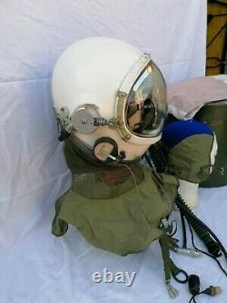 CASCO PILOTA AERONAUTICA CINESE TK 4 Set CHINA Pilot Flight Helmets AIR FORS
