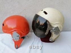 CASCO PILOTA AERONAUTICA ZSH 3 Set Soviet DDR Pilot Flight Helmet
