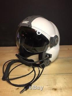 CGF Gallet LH150 Helicopter Pilot / Paramedic Flight Helmet Med not HGU