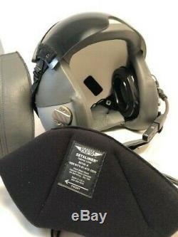 CIVILIAN GENTEX HGU-55 FLIGHT HELMET. PILOT´s HELMET