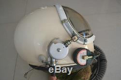 China Navy Aircraft Carrier Fighter Pilot Flight Helmet, Combined Rescue Suit