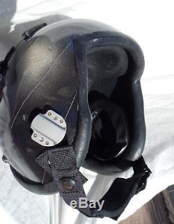 Cold War USAF USN Jet Fighter Pilot's Flight Helmet Type HGU-55/P With Tape