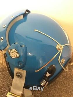 Custom Painted HGU-26 USAF Pilot Flight Helmet size Medium