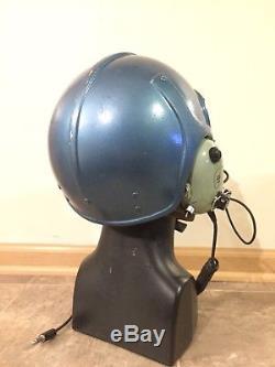 David Clark K10 Helicopter Pilot Flight Helmet Dual Impedance H10-66 Headset