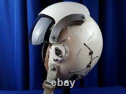 F4 phantom fighter pilot flight helmet 1975 dated HGU-26
