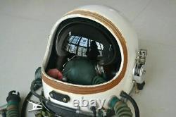 Fighter Pilot Aircraft Aviator Flight Helmet, pull-down Black Sun Visor