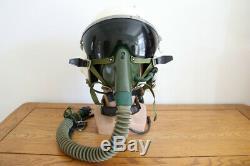 Fighter pilot air force aviator aircraft flight helmet // only $379
