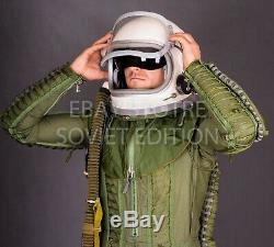 Fighter pilot helmet size XL 3 GSH-6 LP flight jet space air force Russian