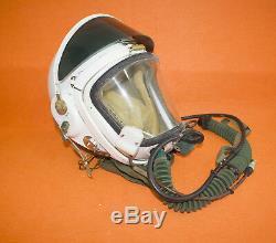 Flight Helmet 1# High Altitude Astronaut Space Pilots Pressured Flight Suit DC-6