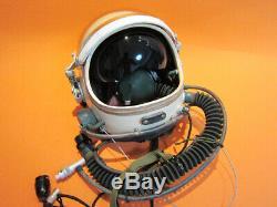 Flight Helmet 2# +Spacesuit High Altitude Astronaut Space Pilots Flight Suit 1#