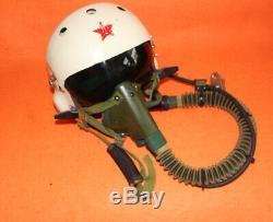Flight Helmet Air Force Light Fighter Pilots Oxygen Mask Ym-6505 0602