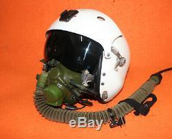 Flight Helmet Air Force Pilot Helmet SIZE1# XXL OXYGEN MASK YM-6M 011016