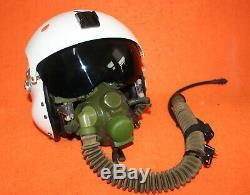 Flight Helmet Air Force Pilot Helmet SIZE1# XXL OXYGEN MASK YM-6M 0325